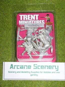 Trent Miniatures FRENCH DRAGOON COMMAND FC02