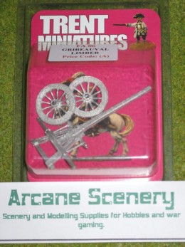 Trent Miniatures FRENCH GRIBEAUVAL LIMBER FA06 28mm