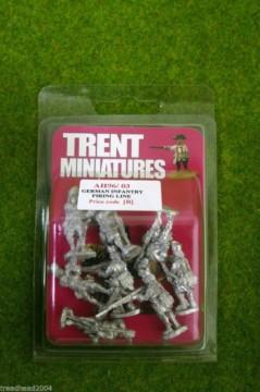 Trent Miniatures GERMAN INFANTRY FIRING LINE AH96/03