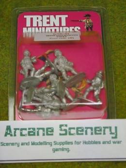 Trent Miniatures Ir98/01 IRISH INSURGENTS w. Pikes