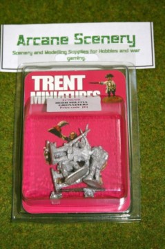 Trent Miniatures Ir98/08 IRISH MILITIA GRENADIERS ( BICORNES) 28mm