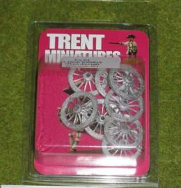 Trent Miniatures WHEELS – LARGE SPOKED WHEELS Wargames 28mm Diameter