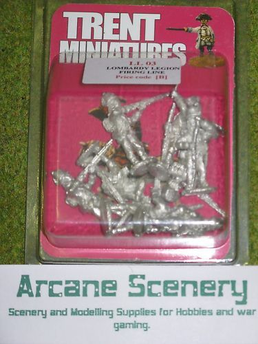 Trent Miniatures LOMBARDY LEGION FIRING LINE LL03