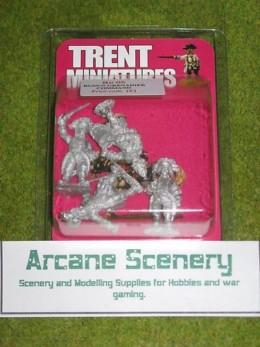 Trent Miniatures RUSSIAN GRENADIERS COMMAND RU05 28mm