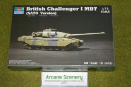 Trumpeter CHALLENGER I MBT NATO VERSION 1/72 scale kit 7106