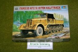 Trumpeter FAMO Sd. kfz. 9 18 ton Halftrack  1/72 scale 7203