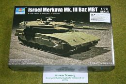 Trumpeter Israel Merkava Mk.III Baz. MBT TANK 1/72 scale kit 7104