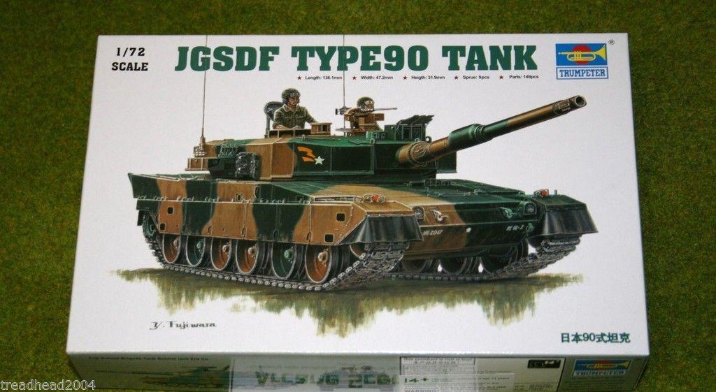 Trumpeter JGSDF TYPE 90 TANK 1/72 scale kit 7219