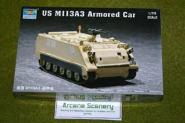 Trumpeter US M113A3 Armoured Car  1/72 scale kit 7240