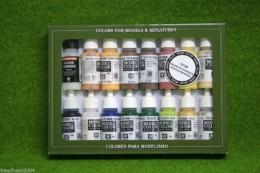VALLEJO AMERICAN REVOLUTION Model Colour 16 bottle set 70148
