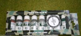 VALLEJO AXIS  PANZER ACES Model Colour 8 bottle set 1 70122