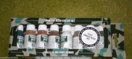 VALLEJO AXIS  PANZER ACES Model Colour 8 bottle set 2 70123