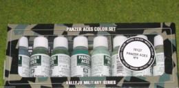VALLEJO AXIS PANZER ACES Model Colour 8 bottle set 4 set 70127