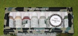 VALLEJO GERMAN PANZER ACES Model Colour 8 bottle set 6 70129