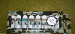 VALLEJO  PANZER ACES Model Colour 8 bottle set 3 ALLIED Crew 70126 D