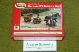 Valiant WW2 GERMAN IF8 INFANTRY CART 1/72  set VM005