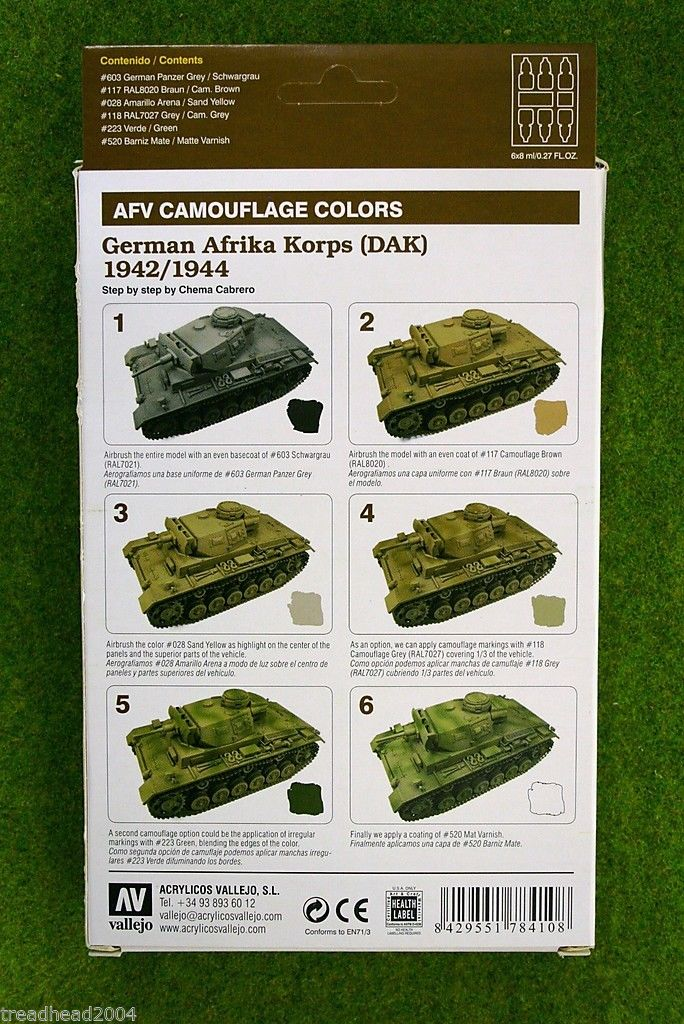 WWII German Afrika Korps Painting Tutorial - Paint All The ...