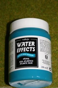 Vallejo Atlantic Blue WATER EFFECTS 200mls terrain / scenery making 26204