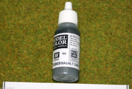 Vallejo Model Color BASALT GREY Acrylic Paint 70869