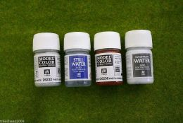 Vallejo Textures Set of four 35ml pots 73195 D