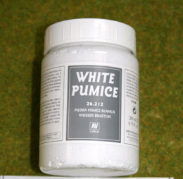 Vallejo WHITE PUMICE 200mls Stone Textures Scenery acrylic Medium 26212