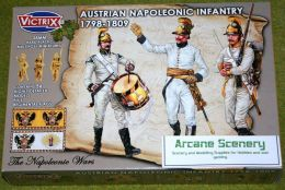 Victrix AUSTRIAN NAPOLEONIC INFANTRY 1798 – 1809 28mm plastic VX0012