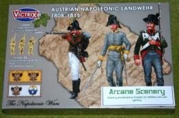 Victrix AUSTRIAN NAPOLEONIC LANDWEHR 1808-1815 Napoleonic 28mm plastic VX0015