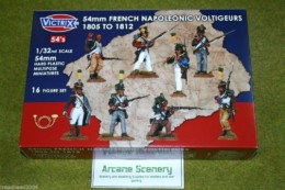 Victrix FRENCH NAPOLEONIC VOLTIGEURS 1805 to 1812  1/32 or 54mm VX5403