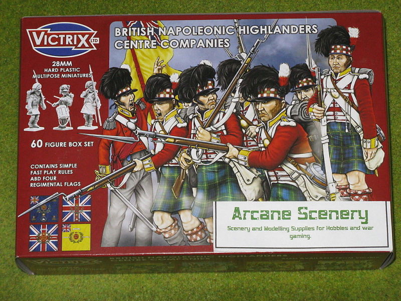 Victrix Centre Companies Highland Infantry.