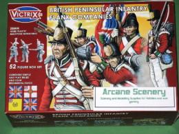 Victrix Napoleonic PENINSULAR BRITISH INFANTRY FLANK COMPANIES 28mm-VX0004