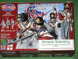 Victrix WATERLOO BRITISH INFANTRY FLANK COMPANIES Napoleonic 28mm-VX0003