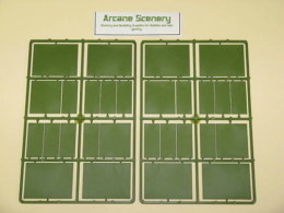 WAR GAMES SQUARE & RECTANGULAR 45mm Cavalry BASES SET 1
