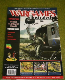 WARGAMES ILLUSTRATED ISSUE 266 December 2009 Back Copy from publisher