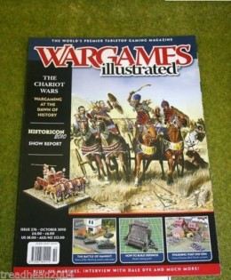 WARGAMES ILLUSTRATED ISSUE 276 October 2010 Back Copy from publisher