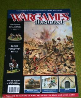 WARGAMES ILLUSTRATED ISSUE 283 May 2011 Back Copy from publisher