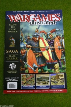 WARGAMES ILLUSTRATED ISSUE 288 OCTOBER 2011 Back Copy from publisher