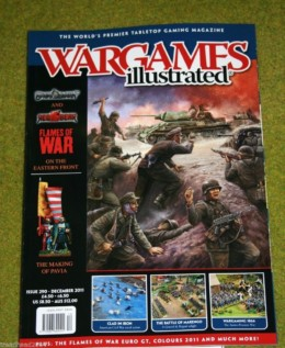 WARGAMES ILLUSTRATED ISSUE 290 DECEMBER 2011 Back Copy from publisher