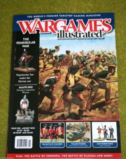 WARGAMES ILLUSTRATED ISSUE 298 AUGUST 2012 MAGAZINE