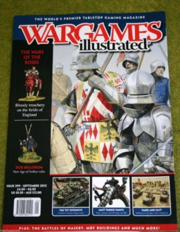 WARGAMES ILLUSTRATED ISSUE 299 SEPTEMBER 2012 MAGAZINE