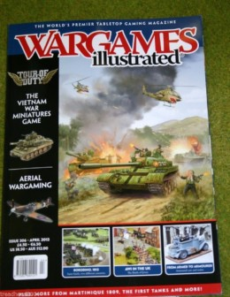 WARGAMES ILLUSTRATED ISSUE 306 APRIL 2013 Back Copy from publisher