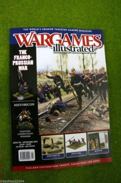 WARGAMES ILLUSTRATED ISSUE 313 NOVEMBER 2013 MAGAZINE