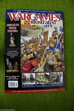 WARGAMES ILLUSTRATED ISSUE 316 FEBRUARY 2014 MAGAZINE