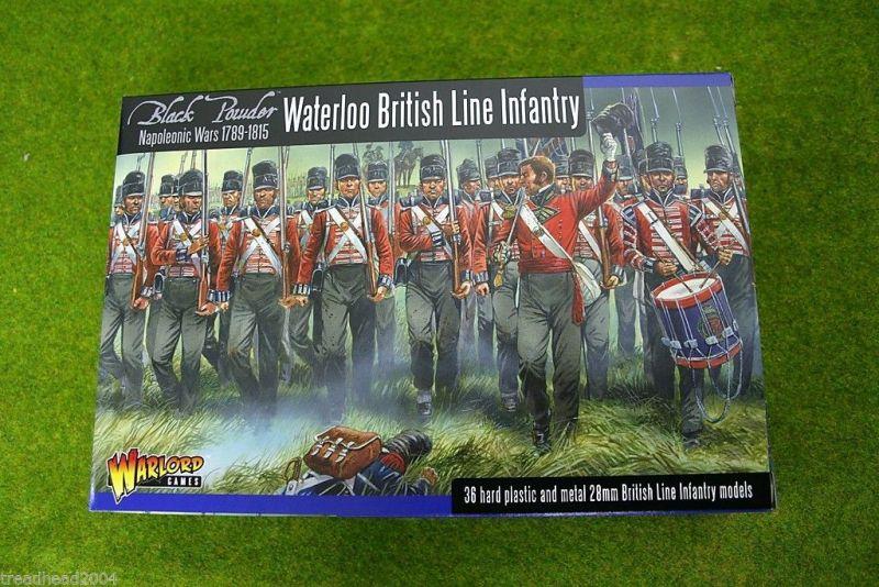 Warlord WATERLOO BRITISH-LINE INFANTRY 28mm