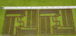 FENCES – 'WORM' FENCING Renedra Wargames Scenery &  Terrain 28mm