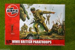 WWII British Paratroops 1/72 Scale Airfix Figures 1723