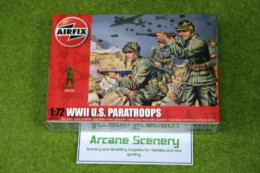 WWII  U.S. Paratroops 1/72 Scale Airfix Figures A01751