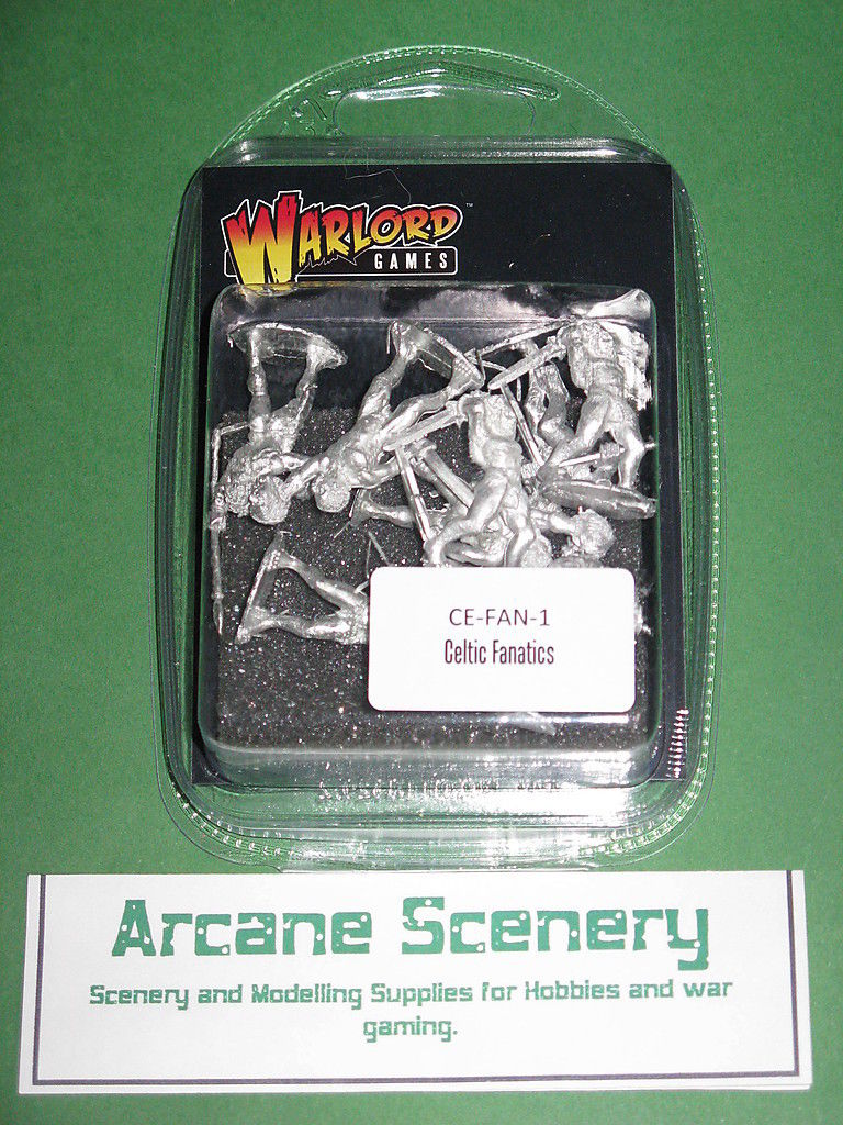 Warlord Games Celtic Naked Fanatics pack 28mm CE FAN 1
