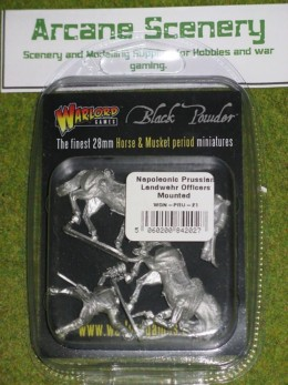 Warlord Games PRUSSIAN LANDWEHR MOUNTED OFFICERS 28mm