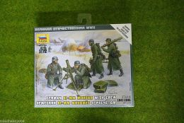 Zvezda GERMAN 81mm MORTAR with CREW (WINTER) 1/72 scale  6209