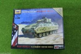 Zvezda M2A2 BRADLEY U.S. Infantry Fighting Vehicle Hot War 1/100 scale 7406